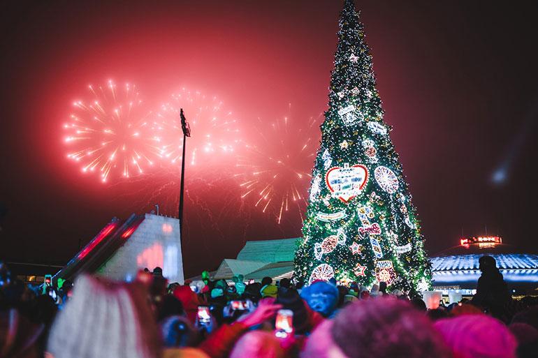 чем фото новогодней елки в казани многоплановых