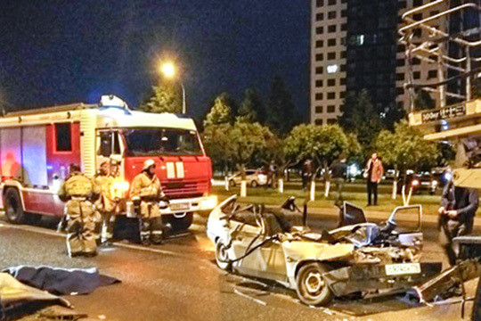 «Пункт назначения» по-челнински: пассажиру «девятки» автовышка «Горсвета» оторвала голову
