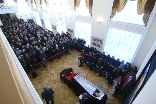 В Казани простились с Василием Лихачевым