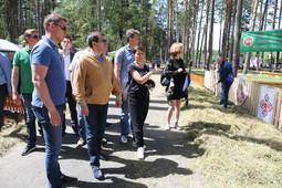 «Шикарная получилась площадка»: Метшин оценил место для Сабантуя на Лебяжьем озере