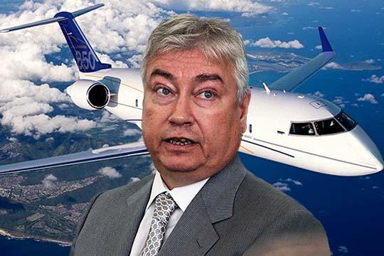 Самолет, который «никогда не видел» Роберт Мусин: тайная жизнь Bombardier Challenger 850