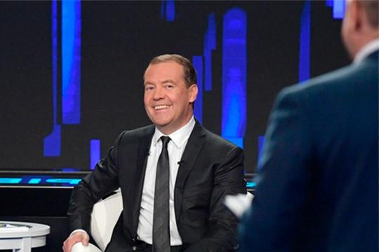 Дмитрий Медведев: «Представляете? Этот акт возник сразу, как большевики взяли власть»