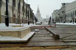 В Казани из-за съемок фильма «Зулейха открывает глаза» ограничили движение по улице Кремлевской