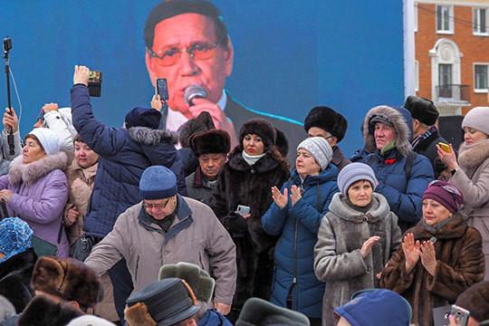 Сотни человек пришли проститься с Ильгамом Шакировым