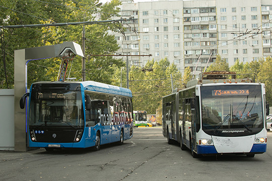 КАМАЗ наПМЭФ: электробусы воглаве угла