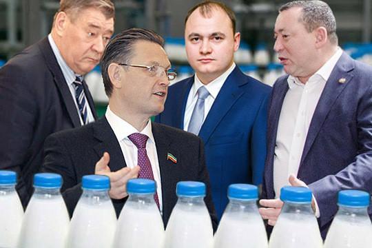 Мингазовы опять на троне: рейтинг главных молочников Татарстана
