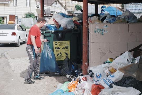 Казанцы «клали» на раздельный сбор мусора