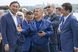 Рустам Минниханов, Ильсур Метшин и «дети» Даши Намдакова