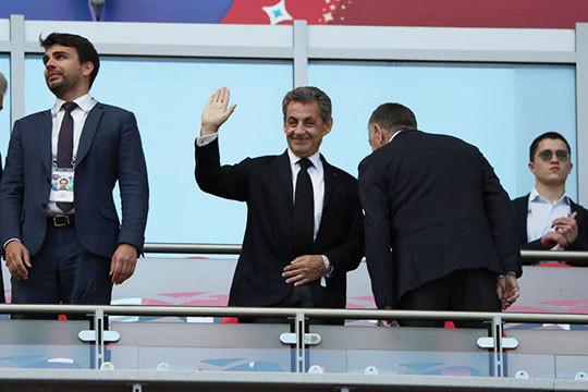 ЧМ-2018 в Казани: Погба и Гризманн приносят Франции победу на глазах Саркози