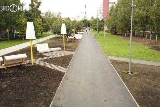 Новый бульвар в Казани: как неухоженная аллея превратилась в функциональное пространство