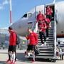 В Казань прилетела футбольная сборная Польши