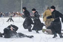 В Набережных Челнах представили реконструкцию прорыва Ленинградской блокады