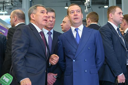 Минниханов – Медведеву: «Мы самодостаточный регион, как бы нас ни обирали»