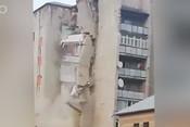 В Молдове рухнул 9-этажный дом