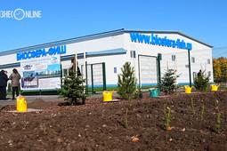 Минниханов открыл в Лаишевском районе первую очередь рыбоводного комплекса «Биосфера-Фиш»