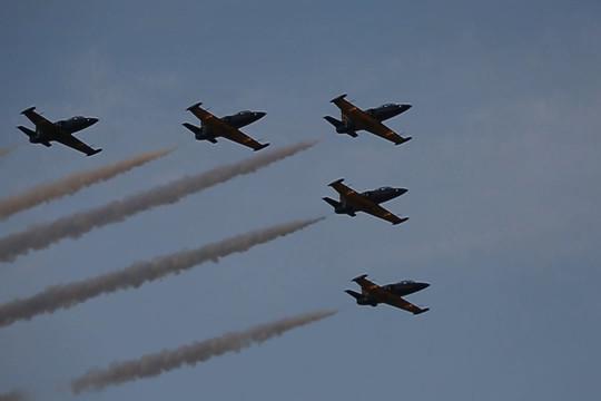 Советская и российская авиация на празднике «Я выбираю небо» в Казани