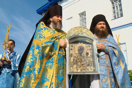 В Раифском монастыре прошли торжества в честь 350-летия Грузинской иконы Божией Матери