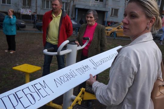 «Заживо могут сгореть тысячи жильцов»: челнинцы выступили против стройки Дамира Бибишева