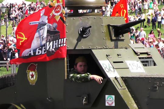 В Казани прошел парад Победы