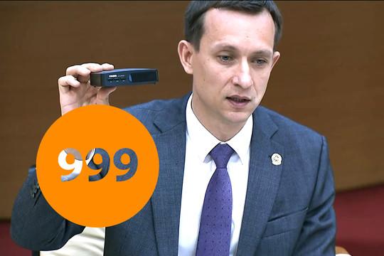 Министр связи Татарстана показал цифровую ТВ-приставку за 999 рублей