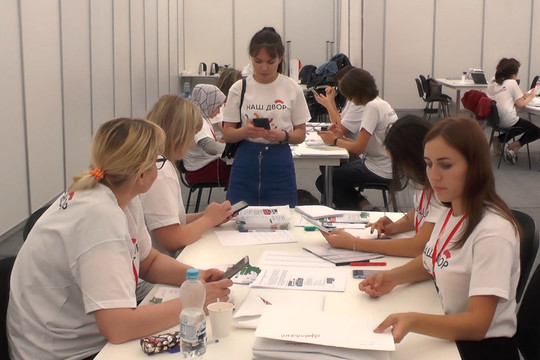 Волонтеры обработали более 80 тыс. анкет программы «Наш двор»