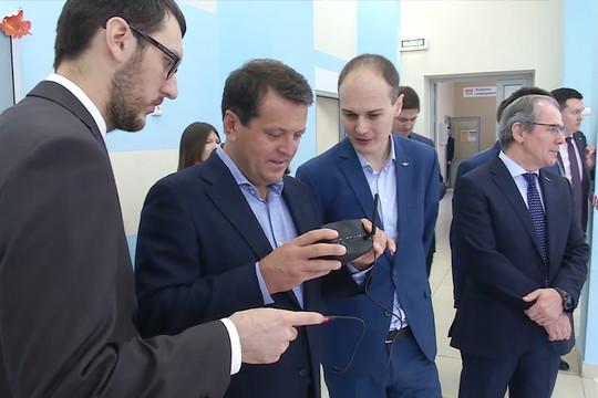 Метшин оценил разработки учащихся инженерного лицея КНИТУ-КАИ