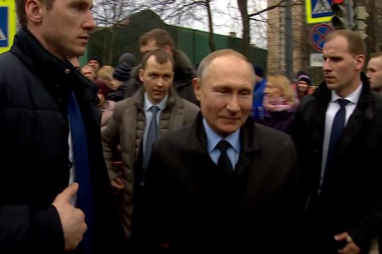 Жительница Санкт-Петербурга пожаловалась Путину на низкую пенсию