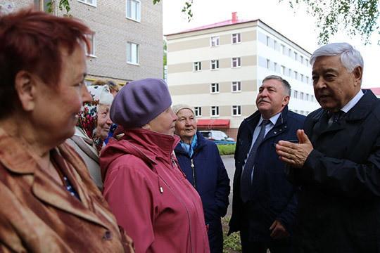 Фарид Мухаметшин: «Ни копейки не дадим, если благоустройство двора не обсудят с жителями!»