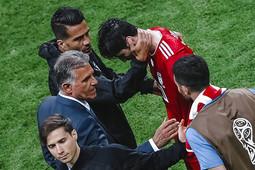 Испания - Иран (1:0): слезы Азмуна, гол Косты, улыбки Минниханова и Инфантино