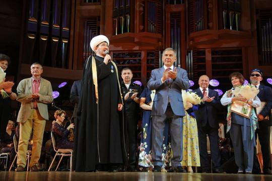 Минниханов посетил Дни культуры Татарстана в Москве