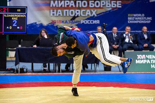 Похвальная организация, триумфальное выступление: Казань провела чемпионат мира по борьбе на поясах