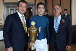 Тагир Метшин завершил свою конноспортивную карьеру выиграв скачку на Кубок Казанского кремля
