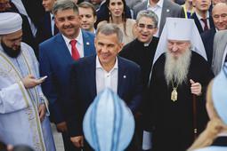 Рустам Минниханов и все-все-все на Сабантуе в Березовой роще