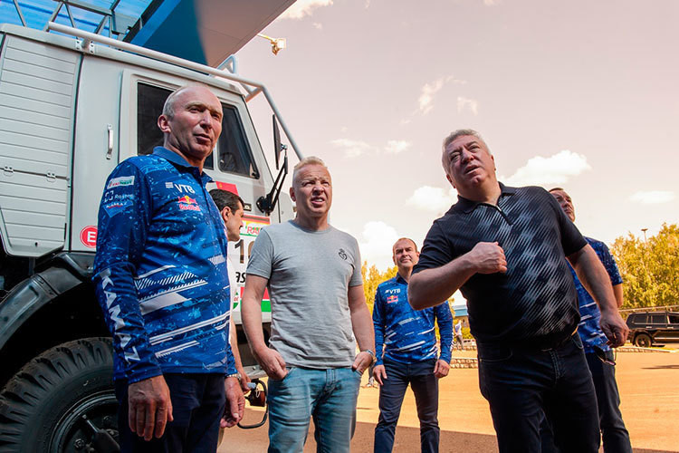 «КАМАЗ-Мастер» «проинспектировал» депутат Госдумы РФ