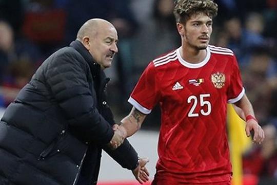 «Команда отреагировала наподдержку»: Россия спасла игру сБельгией