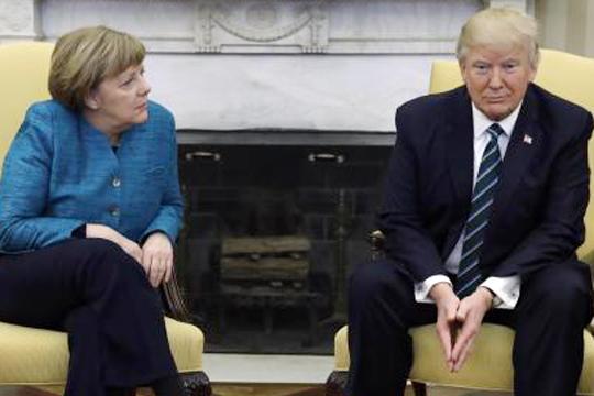 Трамп– Меркель: «Все, чего яхочу, – это честности»