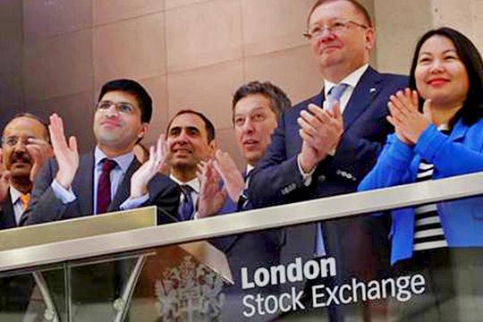 Наиль Маганов вгостях уЛондонского Сити: как «Татнефть» отметила 20-летие IPO