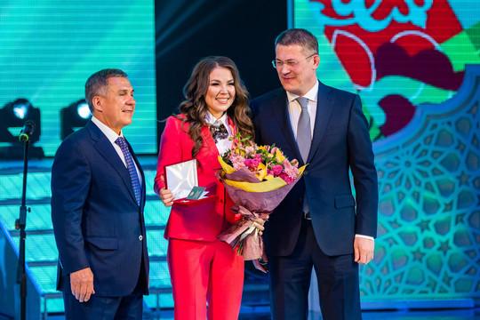 Минниханов, Хабиров и эстрадные звезды: как открывали Дни Татарстана в Башкортостане