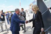 В Казань прибыла Татьяна Голикова