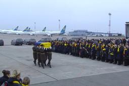 Тела погибших в авиакатастрофе под Тегераном доставили в Киев