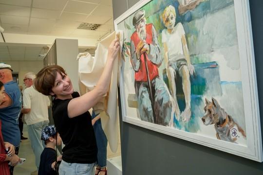 В галерее «БИЗON» открылась «Антивыставка 72/3»