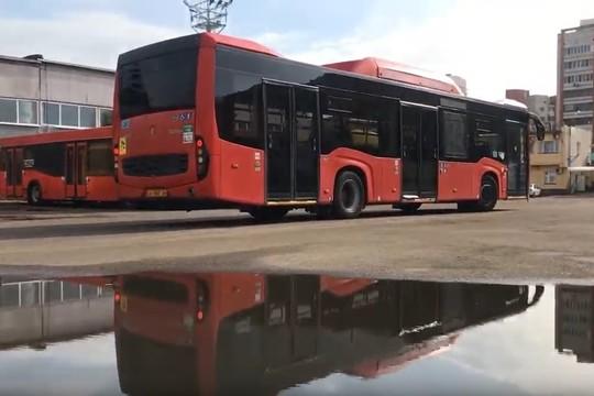 Казанские автобусы готовятся к зиме