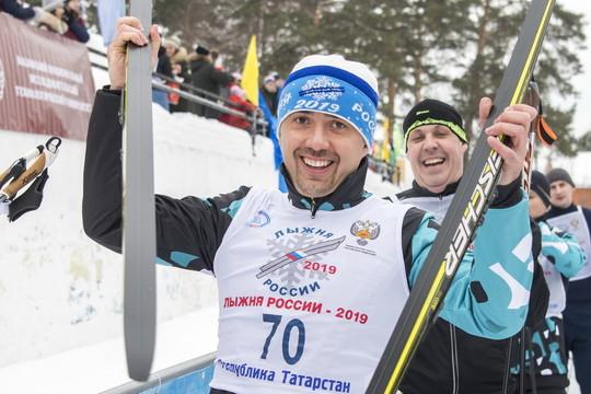 Кто из татарстанских VIP'ов вышел на «Лыжню России – 2019»