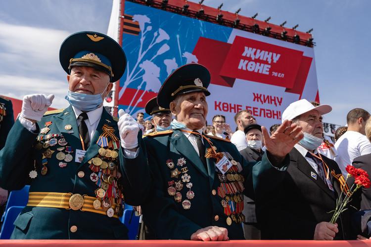 Как прошел Парад Победы в Казани