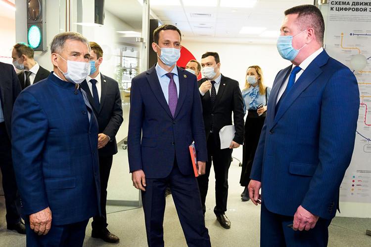 Рустам Минниханов встретился с членами ассоциации содействия цифровому развитию