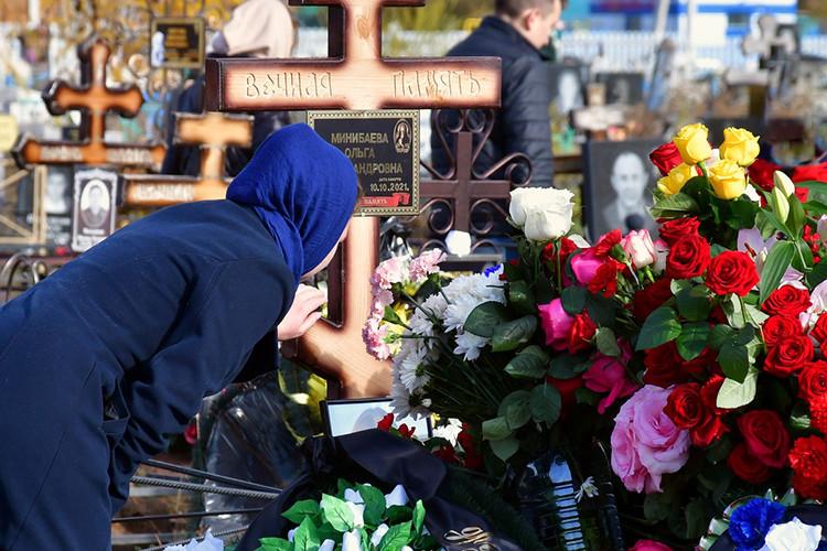 В Мензелинске простились с жертвами самолета L 410