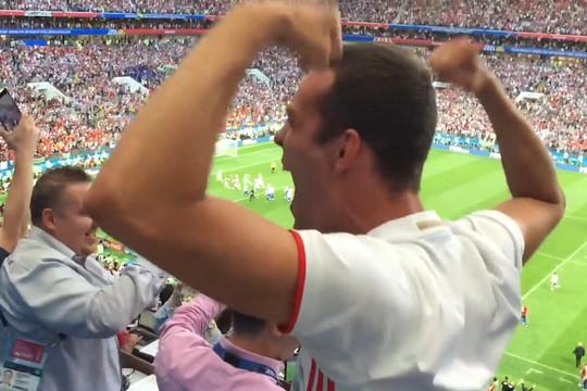 Эпицентр эмоций: как в Москве праздновали победу сборной России