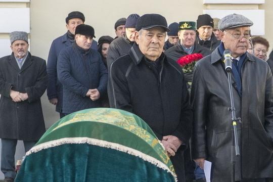 В Казани простились с Сакиной Шаймиевой