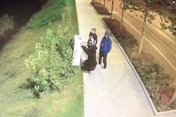 Появилось видео с вандалами, разукрасившими набережную Кабана