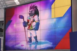 Еж Спайки стал талисманом ЧМ-2021 по хоккею